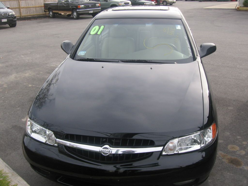 Only 11999 2001 Nissan Altima W 73k Miles Black GLE Sedan Leather Moon Roof